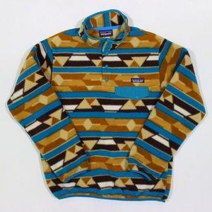 Patagonia T Snap Fleece Jacket Geometric Aztec